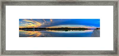 Pawlwys Island Sunset Framed Print by Ed Roberts