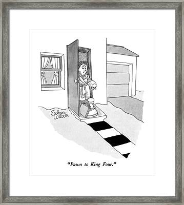 Pawn To King Four Framed Print