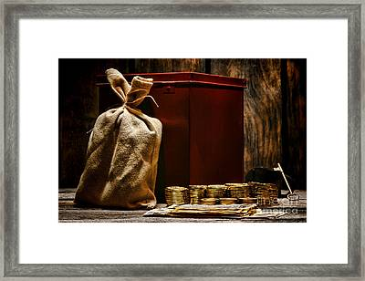 Pay Day Framed Print by Olivier Le Queinec