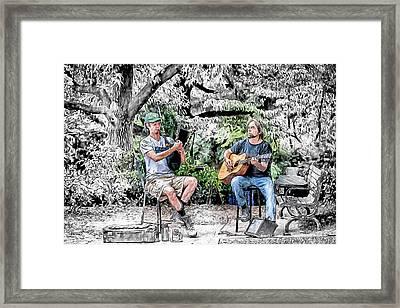 Pay The Piper Framed Print by John Haldane