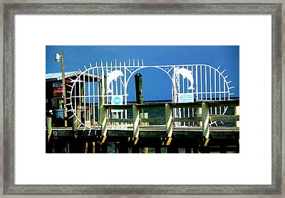 Pay To Play Framed Print