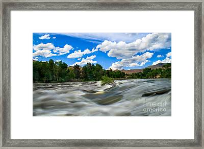 Payette River Framed Print by Robert Bales