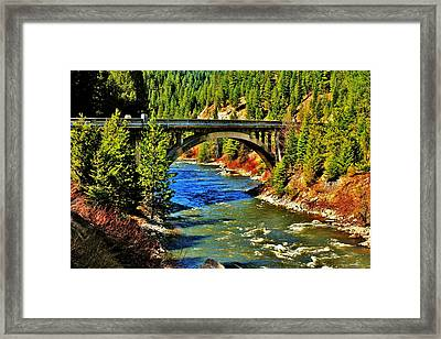 Payette River Scenic Byway Framed Print