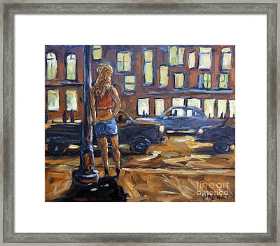 Payin The Rent By Prankearts Framed Print by Richard T Pranke