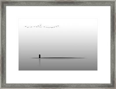 Payphone Framed Print