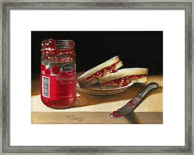 Pb And J 2 Framed Print by Timothy Jones
