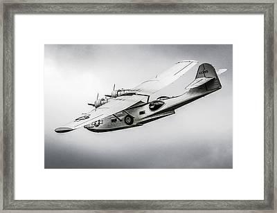 Pby-5a Sub Hunter Framed Print
