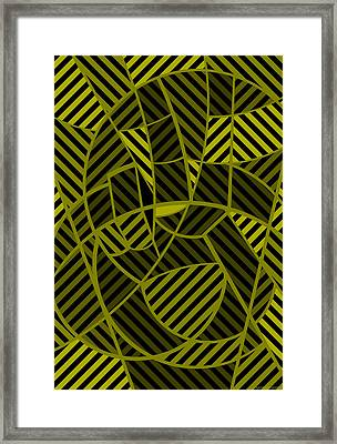 Framed Print featuring the digital art Peace 10 Of 12 by Randall Henrie