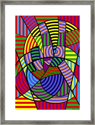 Peace 4 Of 12 Framed Print by Randall Henrie