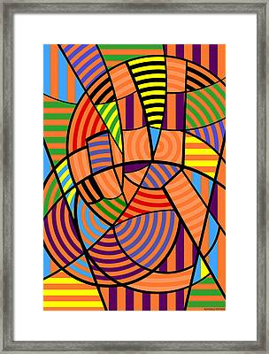 Framed Print featuring the digital art Peace 9 Of 12 by Randall Henrie