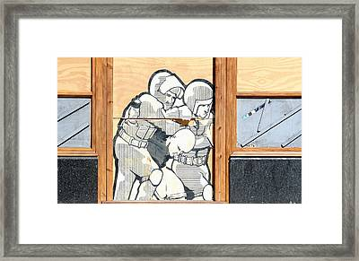 Peace  Framed Print by A Rey