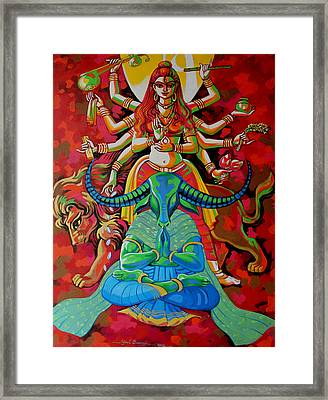Peace Framed Print by Abhijit Banerjee
