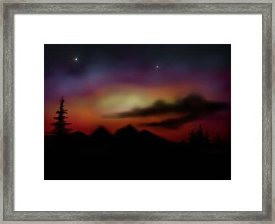 Peace And Calming Framed Print by Ricky Haug