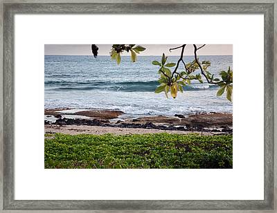 Peace And Harmony At The Beach Framed Print by Susan Stone