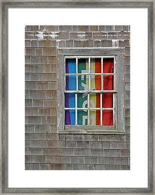 Peace And Pride Framed Print by Brooke T Ryan