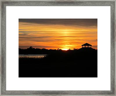Framed Print featuring the photograph Peace And Serenity by Joetta Beauford
