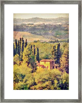 Peace And Tranquility Framed Print by Celso Bressan