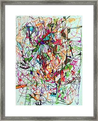 Peace And Wonderment 1 Framed Print by David Baruch Wolk