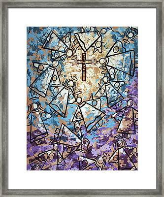 Peace Framed Print by Anthony Falbo