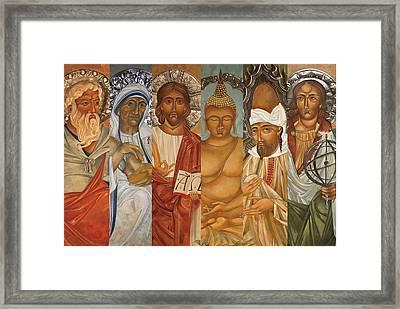 Peace Be Still Framed Print