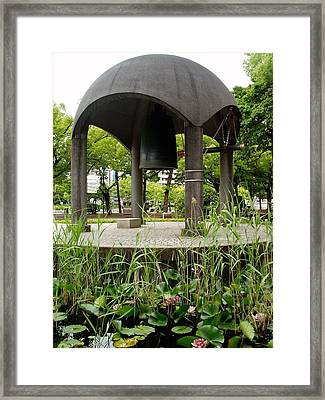 Peace Bell Framed Print by Duomo Photography