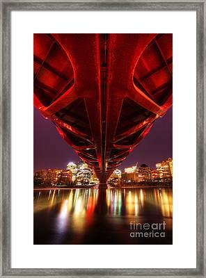 Peace Bridge 2 Framed Print