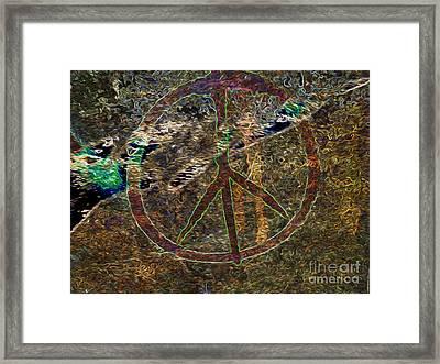 Peace Framed Print by Dan Julien