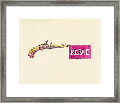 Peace Framed Print by Eric Fan