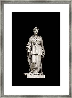 Framed Print featuring the photograph Peace by Fabrizio Troiani