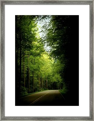 Peace Found Within Framed Print by Karen Wiles