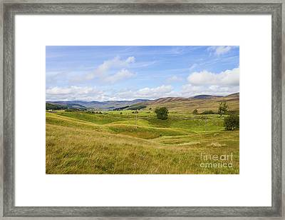 Peace In Glen Clova Framed Print