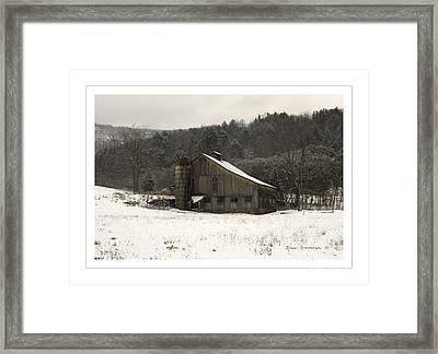 Peace In The Valley Framed Print by John Stephens