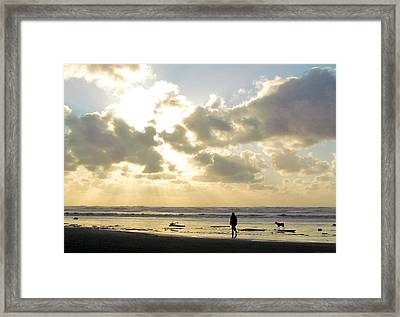 Framed Print featuring the photograph Peace Is A Perception by I'ina Van Lawick