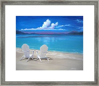 Framed Print featuring the painting Peace by Janet King