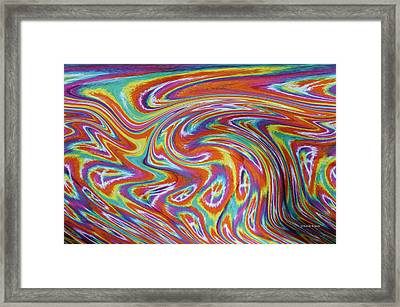Peace Framed Print by Kenny Francis