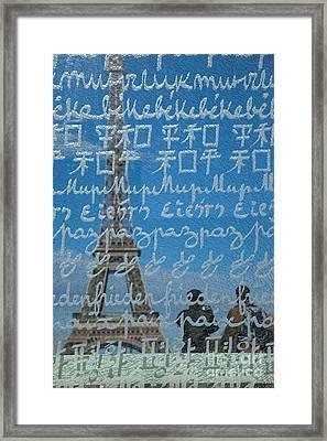 Peace Memorial Paris Framed Print by Brian Jannsen