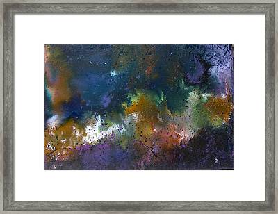 Peace Framed Print by Min Zou