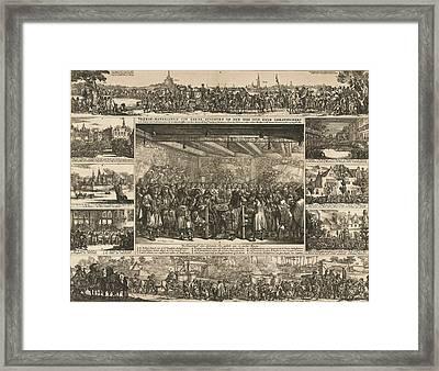 Peace Of Breda, 1667 Framed Print