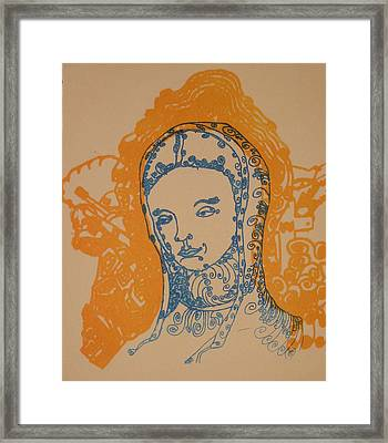 Peace Of Madonna Framed Print
