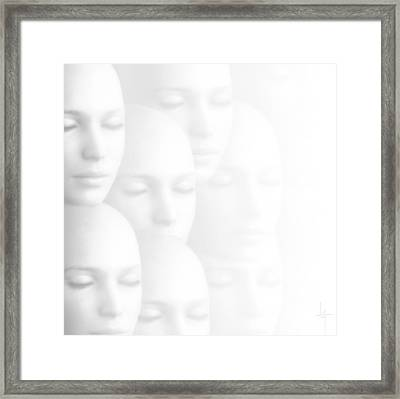 Peace Of Mind Framed Print by Jacky Gerritsen