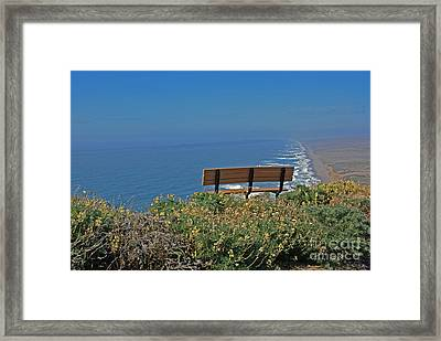 Peace Of Mine Framed Print