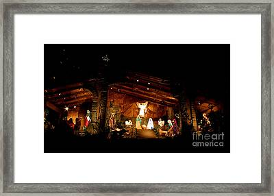 Peace On Earth Framed Print by Jay Nodianos