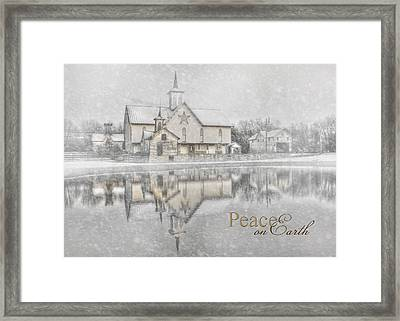 Peace On Earth Framed Print by Lori Deiter