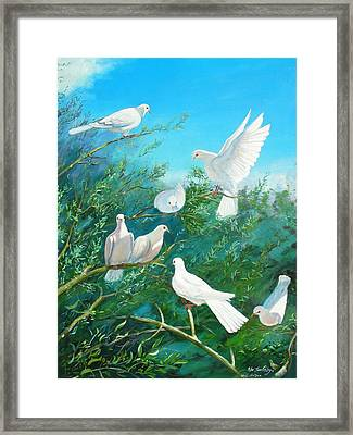 Peace On Earth Framed Print by Peter Jean Caley