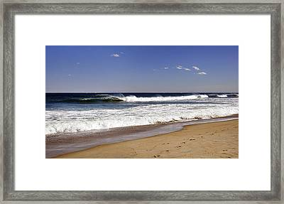 Peace Shores Framed Print by Joanne Brown