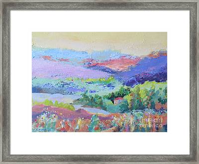 Peace Valley Framed Print