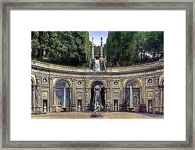 Peace Was Restored Framed Print by Terry Reynoldson