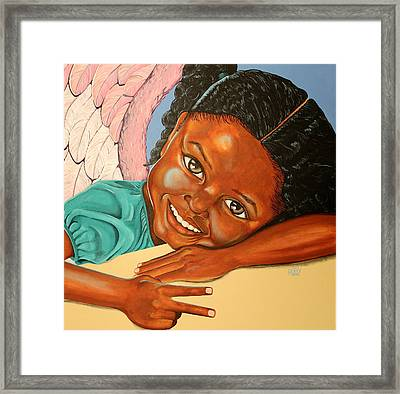 Peace Framed Print by William Roby