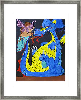 Peacefool Framed Print by HannaH Fussell