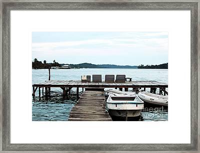 Peaceful At Bocas Framed Print